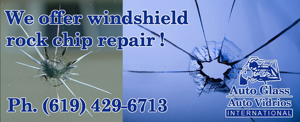 Windshield Rock Chip Repair